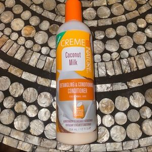 Creme of Nature coconut milk hair products